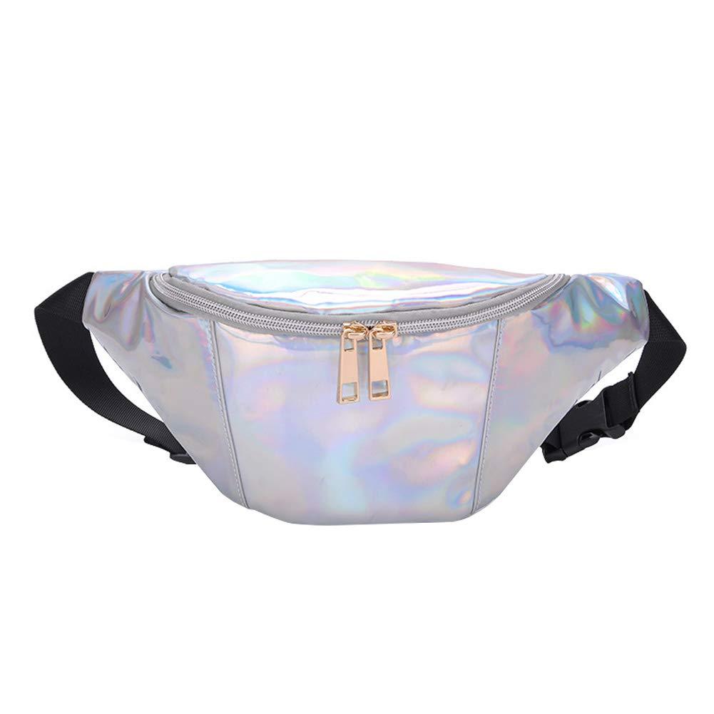 Topdo 1 Pcs Fashion Bum Waist Holiday Money Phone Hip Pouch Bag Bum Bag for Women Girls Pink