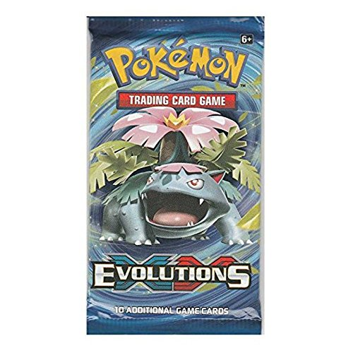 Pokémon XY Evolution Booster Pack (Packs Cards Booster Pokemon)
