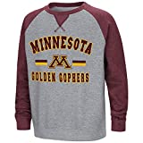 Colosseum Youth Minnesota Golden Gophers Fleece Crewneck Sweatshirt - L