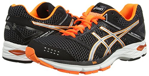 Gel hot racing Eu Orange Nero black Scarpe 7 silver 44 Uomo Red 2390 Running silver 9093 phoenix black Rosso Asics dA0Twqq
