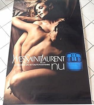 Yves 120x175 LaurentNu Affiche Parfum Saint Cm KJcTFl1