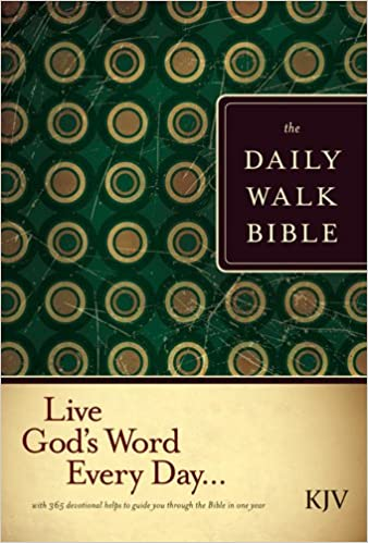 The Daily Walk Bible KJV (Softcover): Walk Thru Ministries