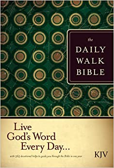 KJV THE DAILY WALK BIBLE PB