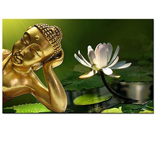 Peaceful Buddha Canvas Wall Art,Take Meditation Buddha Art for