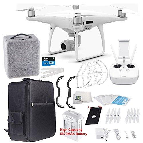 DJI Phantom 4 PRO Quadcopter Starters Backpacker Bundle