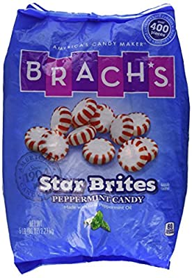 Brach's Star Brites Peppermint Candy, 5 Pound