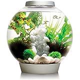 biOrb CLASSIC 30 Aquarium with LED Light - 8 Gallon, Silver