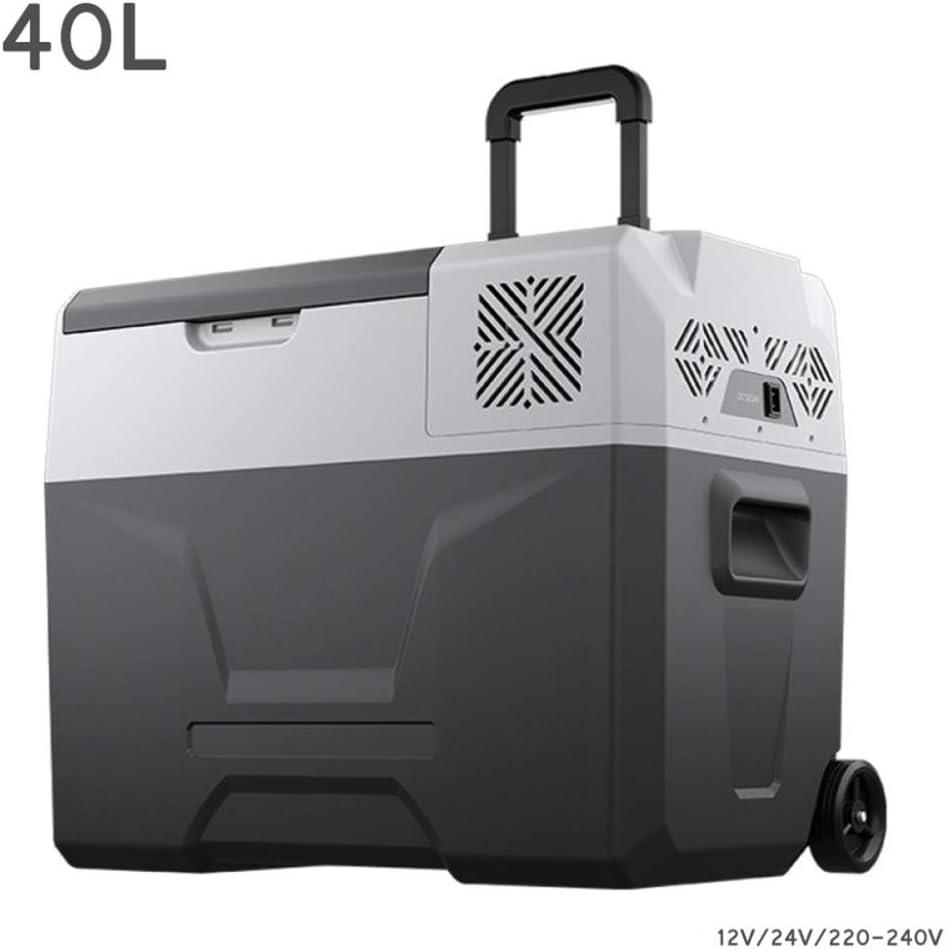 Refrigerador del automóvil de 40L Compresor Congelador- Caja fría ...