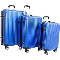 KIT Conjunto 3 Malas de Viagem P/M/G em Abs