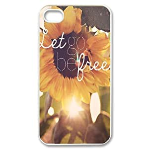 Be Free Customized Cover Case for Iphone 4,4S,custom phone case ygtg580905