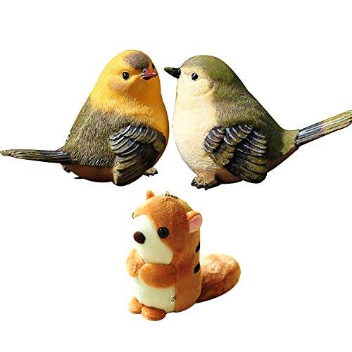 resin bird ornaments - 7