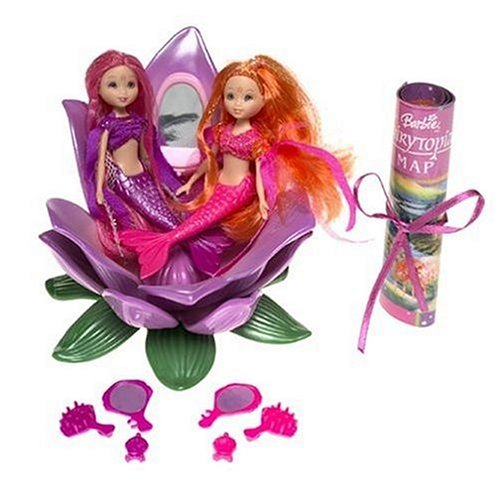 Barbie Fairytopia Dolls - Petal Pixies - Pink & Purple Mermaids