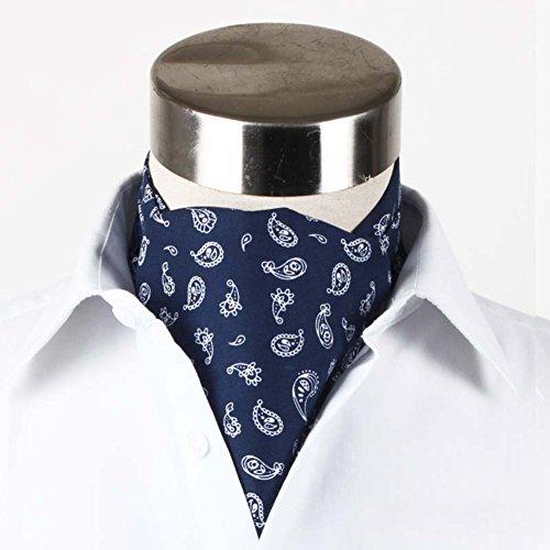 - PENGFEI Silk Cotton Cravat Man Gentleman Shirt Neckline Towel Double-sided Autumn And Winter Business 7 Colors 1/2 Block Optional, 15x128CM (Color : 1#, Size : 1-piece)