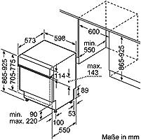 Constructa cg4b05j5 empotrable de lavavajillas/A +/Notebook Semi ...