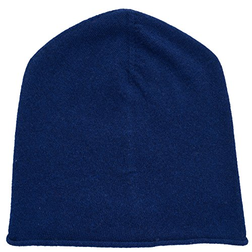 Nice unisex única Curl Really Gorro 100 lana talla oscuro Eco azul Cashmere Invierno Gorro Solid cachemira Beanie unisex gris xBdHwqdC0