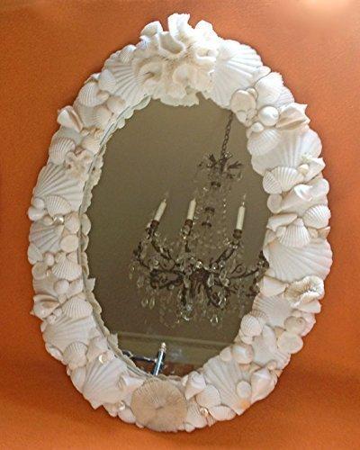 Seashell Mirror - Mirror Oval Collection Beach