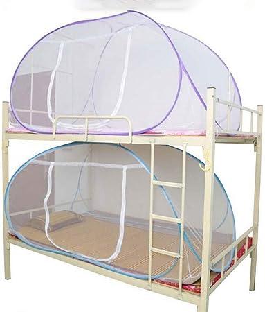 Cama con dosel Mosquitera Adecuado hasta camas King Size 1.5m de altura F/ácil red de insectos para acampar y al aire libre Pukkr Pop Up Bed Net con puertas
