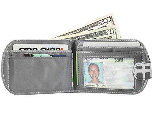 Taxicat To Bi Holds 25 Up fold Cobble Slim Women's Graphite Wallet Big Cards Skinny SzgxFSqE
