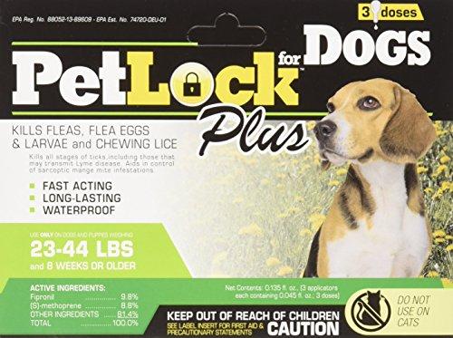Petlock Security Flea Repellent for Dogs, Medium