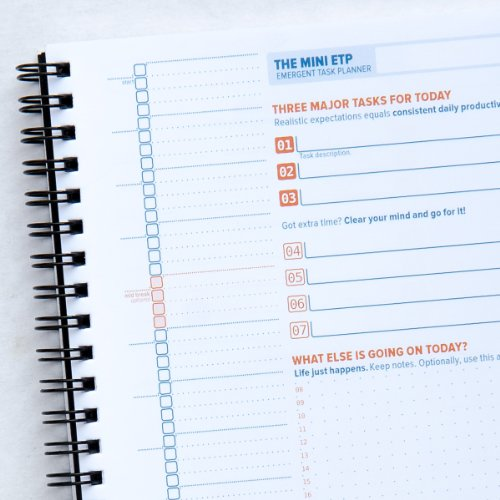 The Emergent Task Planner 3-Month Mini Notebook (5.8x8.5)