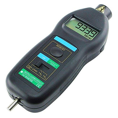 Digital Laser Photo Contact Tachometer