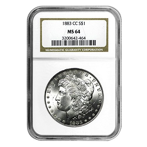 1883 CC Morgan Dollar $1 MS-64 NGC