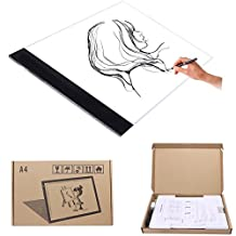 Arich A4 LED Tracing Light Box USB Power thin Light Pad Table for Artists,Drawing, Sketching, Animation