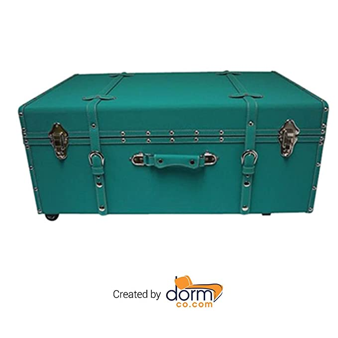 stunning Teal Storage Trunk Part - 6: Amazon.com