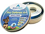 Dog Flea Treatment Collar - [New 2018 Version] Flea and Tick Collar 9-MONTHS Pro Deffence A+ for Dogs - Best Natural Pet Protection Kills, Repels, & Prevents Fleas, Pests - Waterproof (FOR SMALL DOG - 9 Months)