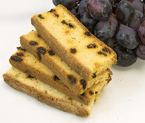 Almond Fat Free Biscotti - Irene's Bakery All Natural Fat Free Raisin Almond Biscotti