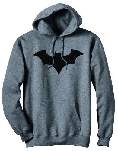 Batman 52 Symbol Pullover Hoodie Sweatshirt   -