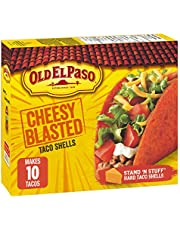 Old El Paso Cheesy Blasted Taco Shells, 153 Gram
