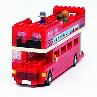 Nanoblock NAN-NBH080 London Tour Bus Toy, Multi-Colour