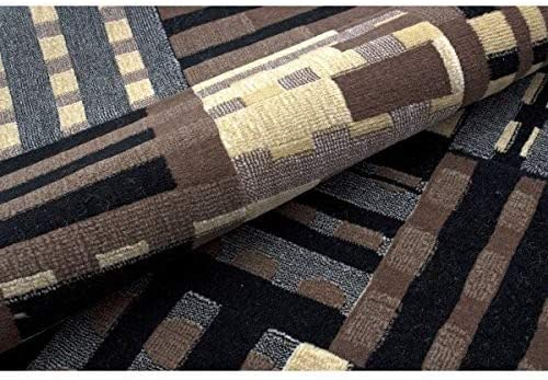 Nourison Modesto Grey Rectangle Area Rug, 7-Feet 10-Inches by 10-Feet 6-Inches 7 10 x 10 6