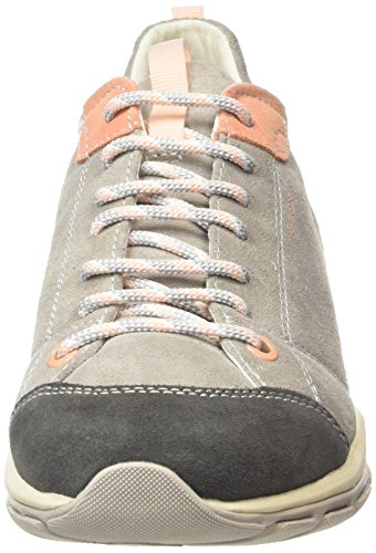 GeoxD KANDER B - Zapatillas Mujer Gris - Grau (LT GREYC1010)