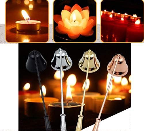 /Éteignoir /à bougie Outflower en acier inoxydable pour /éteindre vos bougies en toute s/écurit/é