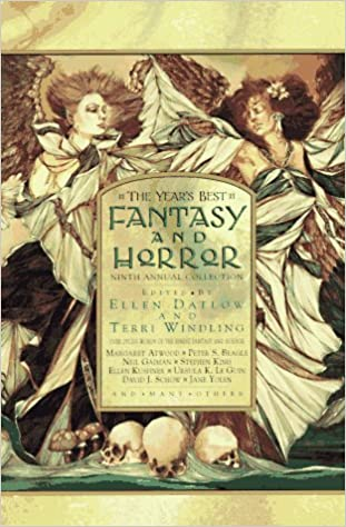Image result for the year's best fantasy and horror ninth annual collection book cover