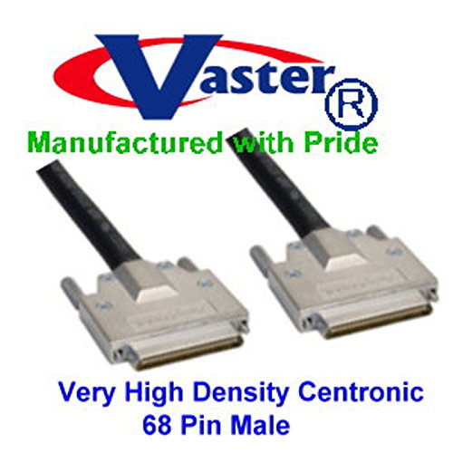 SuperEcable - 20372-3 Ft -VHDCI M/M, 34 TP, Offset SCSI Cable by Vaster