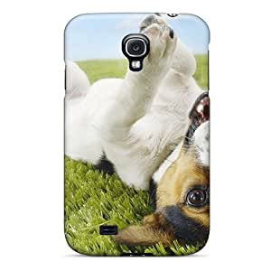 Hot PlisFsk8205UbNJJ Case Cover Protector For Galaxy S4- Funny Terrier