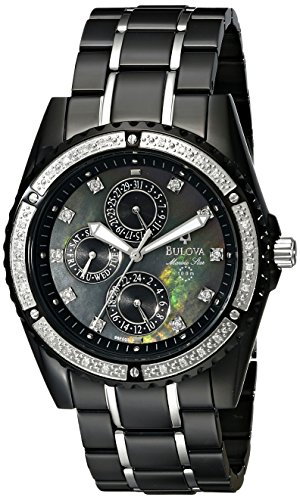 Bulova Men's 98E003 Marine Star Diamond Accented ()