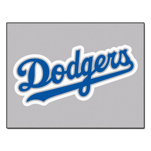 FANMATS MLB Los Angeles Dodgers Nylon Face Tailgater Rug