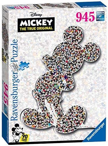 Ravensburger Disney Mickey Mouse Shaped 945pc Jigsaw Puzzle Disney Mickey Mouse Jigsaw Puzzles