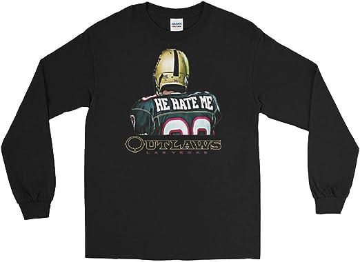 He Hate Me XFL Las Vegas Outlaws Long Sleeve T-Shirt