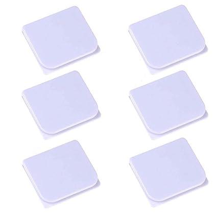 Shower Splash Clips 6 PackLGDehome Self Adhesive Anti