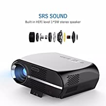 High Quality projection 200inch Screen Newest Android 6.0.1 LED Projector 1280x800 Resolution 3500 Lumens Support Full HDBuilt-in WIFI Bluetooth DLAN Miracast Alirplay