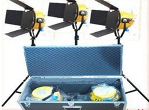 GOWE 32000W 220V Yellow Head Fresnel light Continuous Video Studio Lighting Tungsten Light ()