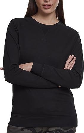 TALLA S. Urban Classics Ladies Terry Raglan Crew Suéter para Mujer