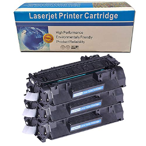 Machter 3PK Compatible High Yield Black Toner Cartridge Replacement for Canon 119 CRG119 CRG-119 3479B001AA