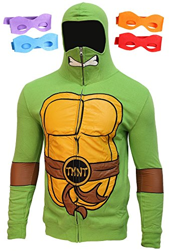 Bioworld Ninja Turtles Deluxe Suit up Zip Hoodie