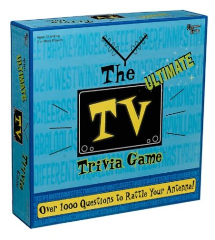 The Ultimate TV Trivia Game ()